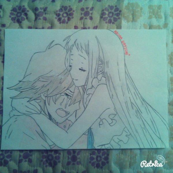 Mon dessin pour le concours de Tristesse ! ^^
