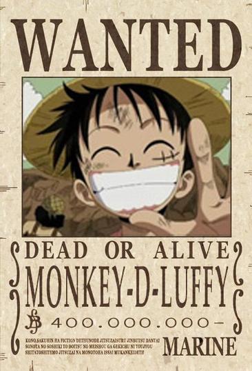 Monkey D Luffy :)