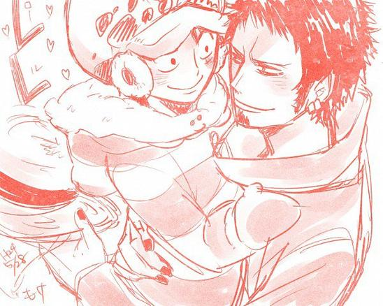 Law x Luffy ^^