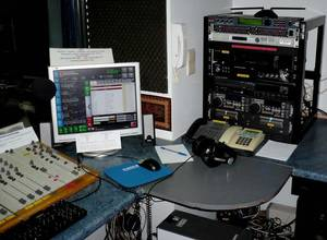 Les studios de Gold FM - 106.1 à Bruxelles