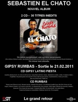 Découvrez le nouvel album de SEBASTIEN EL CHATO, un retour tant attendu !!!