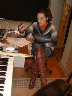Yza-lys, le talent à l'état pur !!! - (Au boulot en studio)