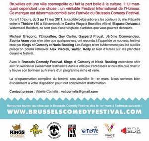 Brussels Comedy Festival 2011 : Le festival du rire de Bruxelles...