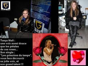 """Bientôt, le 1er single de Tanya Wall : """"LES GRIMOIRES DU TEMPS""""..."""