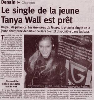 """TANYA WALL et """"Les Etoiles de BES"""", dans la presse française !!!"""