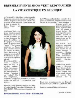 Nolwenn Leroy : mes archives presse... sous ma signature !!!