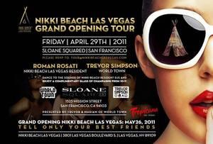 Nikki Beach Las Vegas : Ouverture le 26 mai 2011 !!!