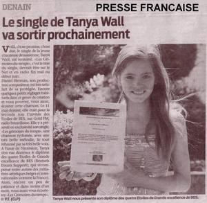 """Double """"Etoiles de BES"""" pour Tanya Wall"""
