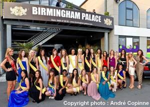 """Les finalistes au titre de """"Miss Bruxelles"""" 2012 : Birmingham Palace - 09 Mai 2011"""