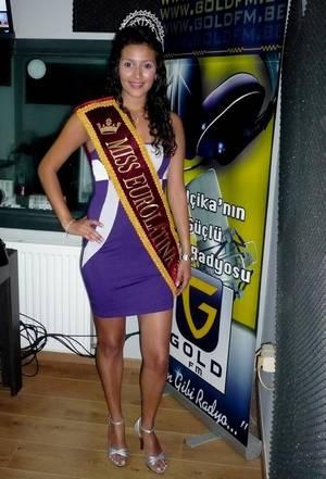 """Claudia Liliana, Miss Eurolatina 2011 dans : """"Les Etoiles de BES"""" sur Gold FM"""
