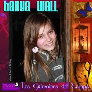 """Pochette du CD single de TANYA WALL : """"Les grimoires du temps"""""""
