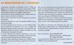 BES ACTU : Atomium, bilan d'une rénovation réussie !!!