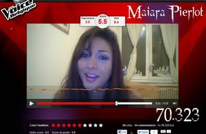 "Maiara (MAI), candidate à : ""THE VOICE BELGIQUE"" !!!"