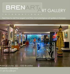 """A découvrir à Bruxelles : La galerie d'art """"BRENART INTERNATIONAL"""""""