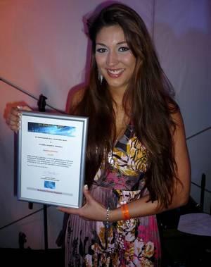 Maiara en concert à la Fiesta Latina, reçoit les 4 Etoiles de BES !!!