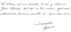 """Jean-Charles DE KEYSER : """"L'AMOUR MORD LA VIE"""" - Tournée 2011"""