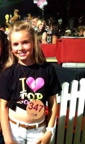 """Top Model Belgium 2011 : Elisa est candidate catégorie """"KIDS"""""""