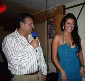 Miss EUROLATINA 2012 - Présentation des finalistes au Cartagena, avec MAI