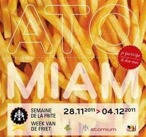 Atomium ou Atomiam, semaine de la frite du 28 novembre au 04 décembre 2011