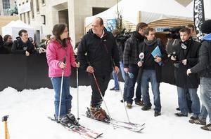 BES ACTU : Une piste de ski à Bruxelles !!!