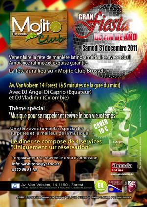 Voilà le meilleur réveillon de Bruxelles pour ce 31 décembre 2011 !!!