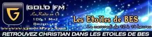 """Sarah Bovy : dans """"Les Etoiles de BES"""" sur Gold FM - 28.12.2011"""