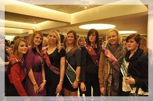 Miss Woluwe 2012, qui va succéder à la belle Charlène ? Emission BES le 28 mars