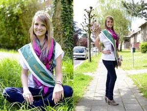"""La belle Esther, Miss Woluwe 2012 dans : """"Les Etoiles de BES"""" - 02.05.2012"""