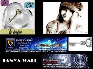 """Le nouveau single de TANYA WALL, """"La clé du bonheur"""" est sorti !!!"""