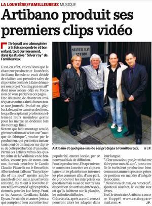 """ARTIBANO dans : """"Les Etoiles de BES"""" - Casting par E-MAIL - 07.05.2012"""