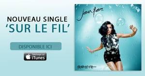 """Découvrez vite le nouveau single de Jenifer !!! """"SUR LE FIL"""""""