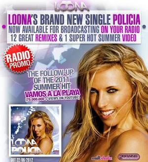"""BES et GOLD FM présentent : LOONA dans """"POLICIA"""""""