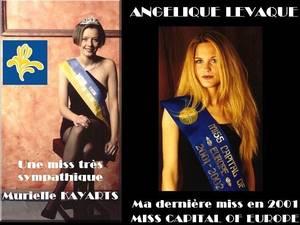 BES SOUVENIRS : La 1ère Miss REGION BRUXELLES - CAPITALE, Murielle KAYARTS