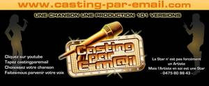 Casting par e-mail, c'est reparti pour 2013... MAI est toujours de la partie !!!
