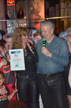 """HANNY - D reçoit : """"Les 4 Etoiles de BES"""", au FLASH BACK CLUB / 14.06.2014"""