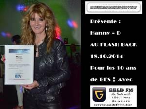 HANNY - D : Star de BES / GOLD FM, sera en concert pour les 10 ans de BES !!!