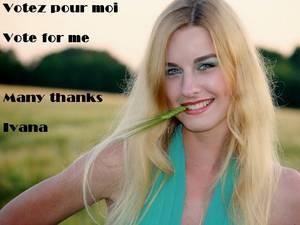 Help Ivana Win $10.000 on ArtistSignal - Votez pour elle !!!