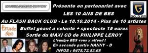 18 octobre 2014 : 10 ans de BES - Plusieurs événements au programme !!!