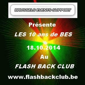 Le plateau artistique des 10 ans de BES - 18.10.2014 - Part 1 (Belgique / France)