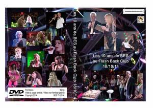 Brussels Events Support TV présente : Les 10 ans de BES au Flash Back Club