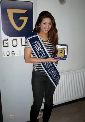 Claudia Liliana Bustos à nouveau sur GOLD FM - 17.04.2015