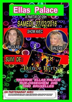 NICO et VALERIE à nouveau en spectacle - ELLAS PALACE 27 février 20h00 avec BES
