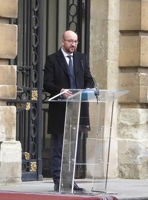HOMMAGE ATTENTATS TERRORISTES AU PARLEMENT FÉDÉRAL - 24.03.2016 (2)