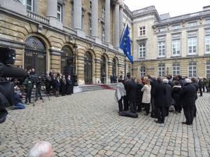 HOMMAGE ATTENTATS TERRORISTES AU PARLEMENT FÉDÉRAL - 24.03.2016 (3)