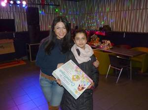 """Assia remet au KITCH : """"Les jouets du c½ur 2016"""" de BES - Grand merci à notre Assia !"""