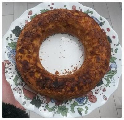 Gâteau de Savoie aux amandes (sans matière grasse)