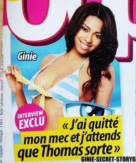 Ginie dans le magazine Oops!
