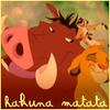 Illustration de 'Le Roi Lion *Hakuna Matata*'
