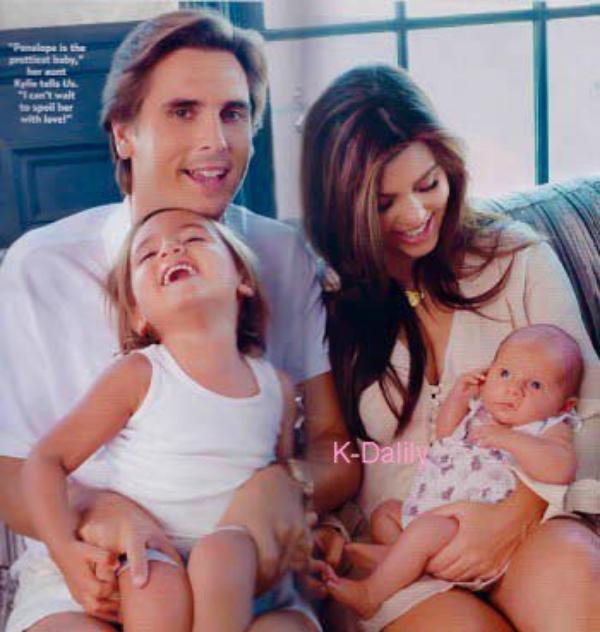 Voici d'autres photos de la magnifique Penelope et sa famille