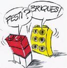 Totale réussite du groupe Festi'Briques à Beaune lors de sa petite expo de mars !